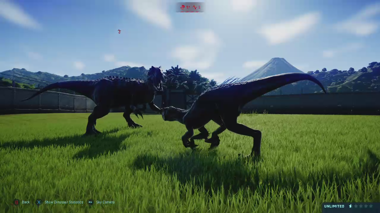 RAPTOR XX playing Jurassic World Evolution