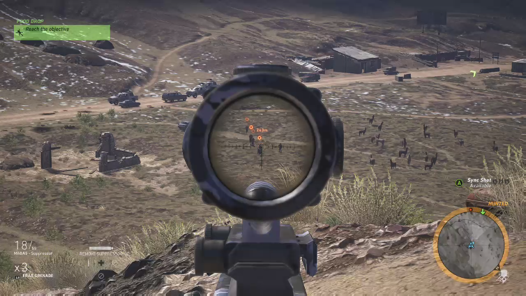 PooGhost playing Tom Clancy's Ghost Recon Wildlands