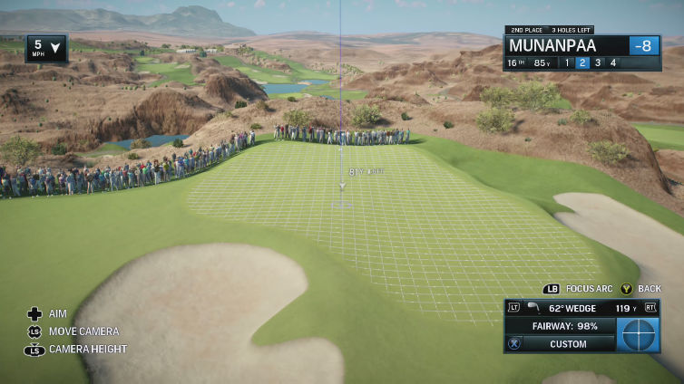 lihiz playing EA SPORTS Rory McIlroy PGA TOUR