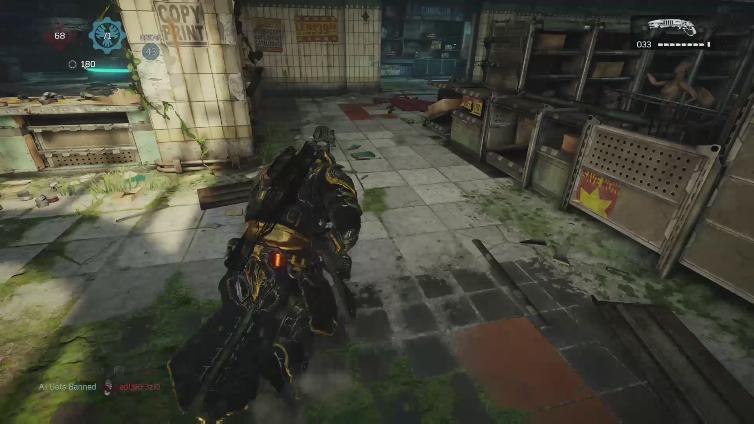 DaCauseOfDeath playing Gears of War 4