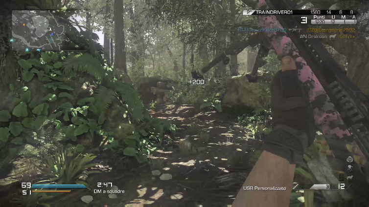 AN Drakuun playing Call of Duty: Ghosts