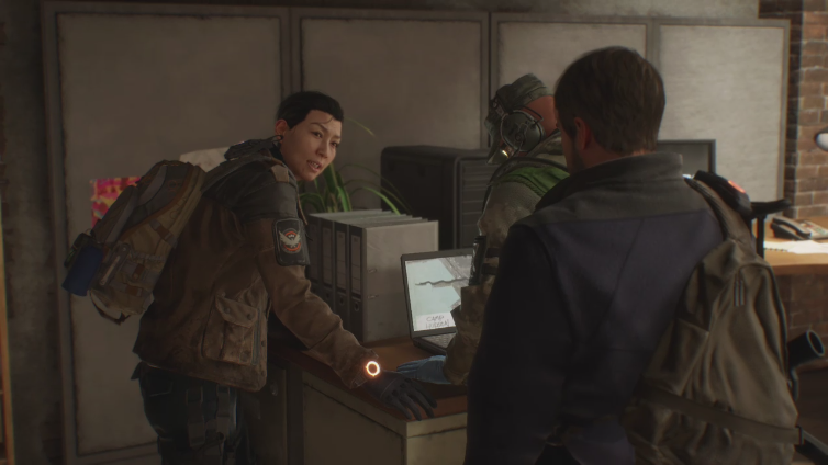 Nagito Luck playing Tom Clancy's The Division